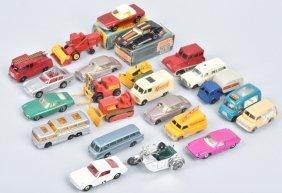 23-vintage Matchbox Cars