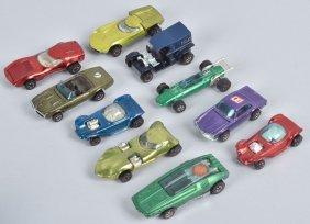 10 Redline Hot Wheels Purple 280 Turbo Fire