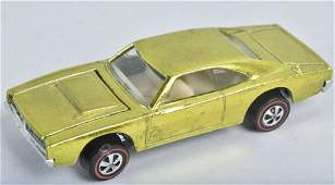 HOT WHEELS REDLINE CUSTOM CHARGER IN LIME YELLOW