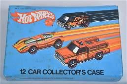 HOT WHEELS REDLINE 12 CAR COLLECTOR CASE