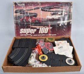 Eldon Super 100 Slot Car Track Set Boxed
