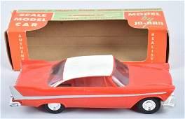 JO-HAN 1958 PLYMOUTH COUPE PROMO CAR MIB
