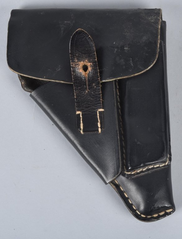 WWII GERMAN LATE WAR PAPER SAUER M38 HOLSTER