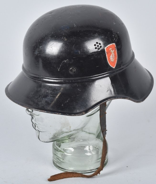 WWII GERMAN ZUNDAPP FACTORY WORKERS HELMET