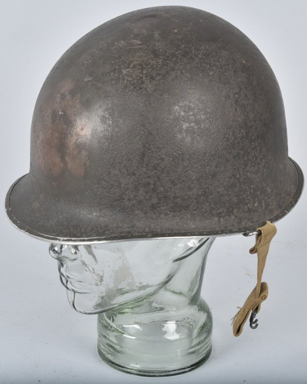 WWII U.S. M-1 HELMET and 3 LINERS - 3