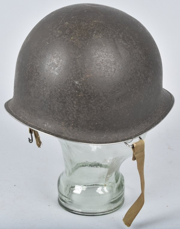 WWII U.S. M-1 HELMET and 3 LINERS - 4