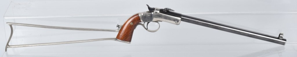 STEVENS .22 PISTOL with MATCHING STOCK