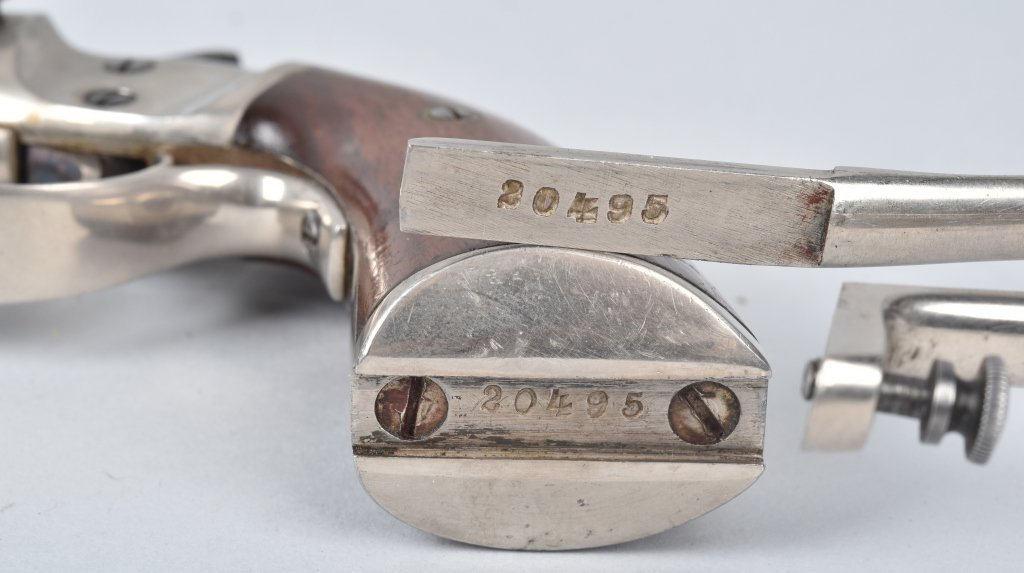 STEVENS .22 PISTOL with MATCHING STOCK - 5