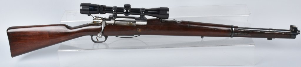 ARGENTINE MAUSER M1909 .765 X 53, with SCOPE