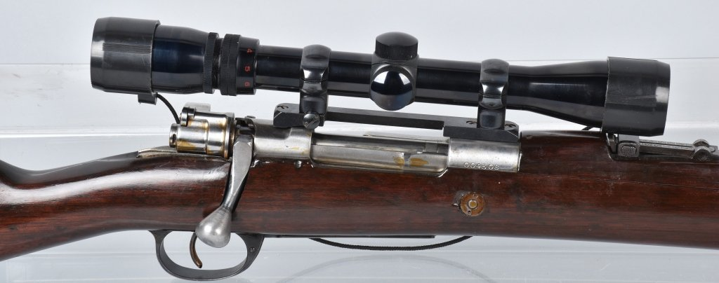 ARGENTINE MAUSER M1909 .765 X 53, with SCOPE - 2