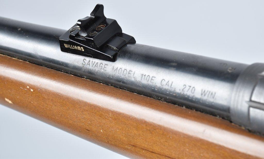 SAVAGE M110E .270 WIN, RIFLE - 6