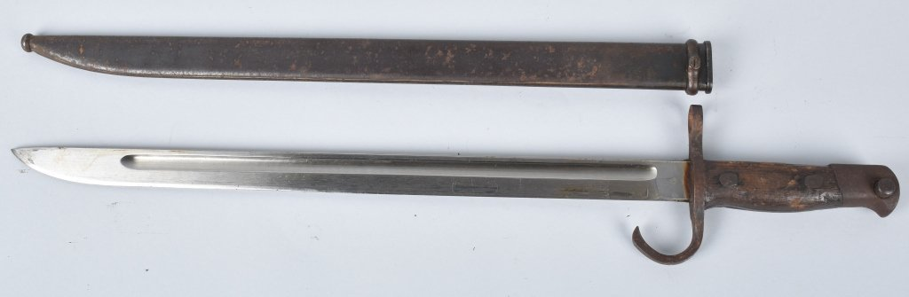 WWII JAPAN T-30 BAYONET and SCABBARD
