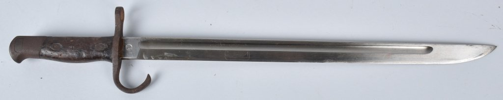 WWII JAPAN T-30 BAYONET and SCABBARD - 2