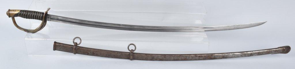 M1860 EMERSON & SILVER CAVALRY SWORD, 1864