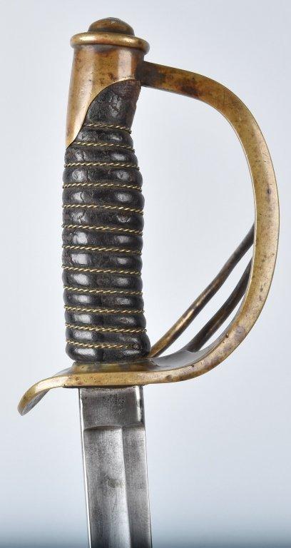 M1860 EMERSON & SILVER CAVALRY SWORD, 1864 - 3