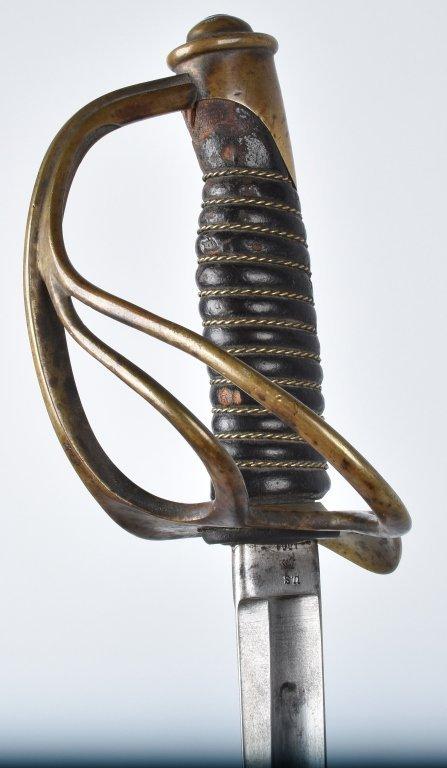 M1860 EMERSON & SILVER CAVALRY SWORD, 1864 - 4
