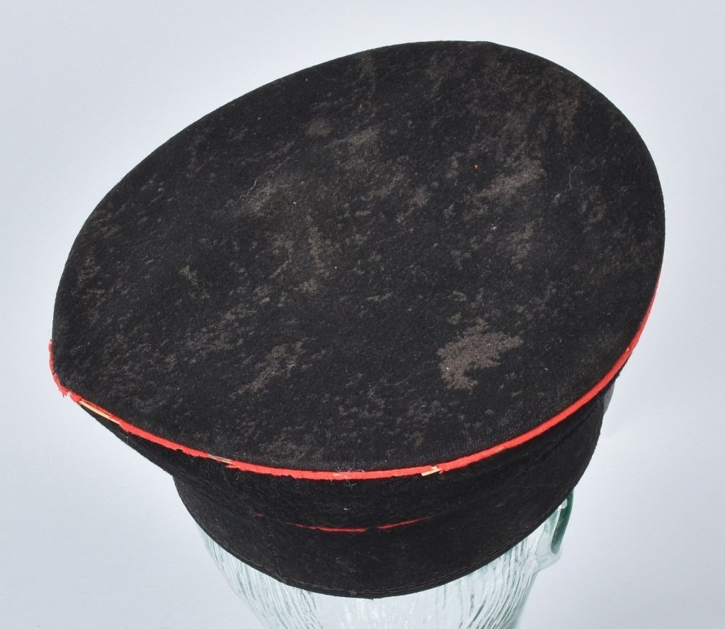 WWI GERMAN RAILWAY VISOR HAT - 2