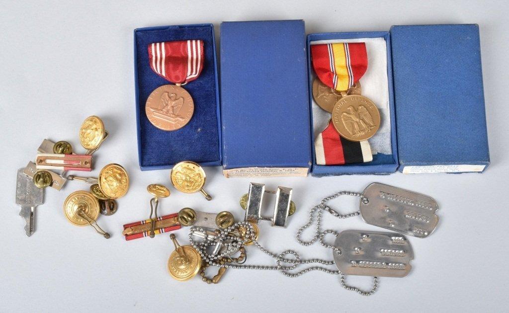 WW2 LT. COMMANDER PHILLIP N. HESS GROUPING - 5