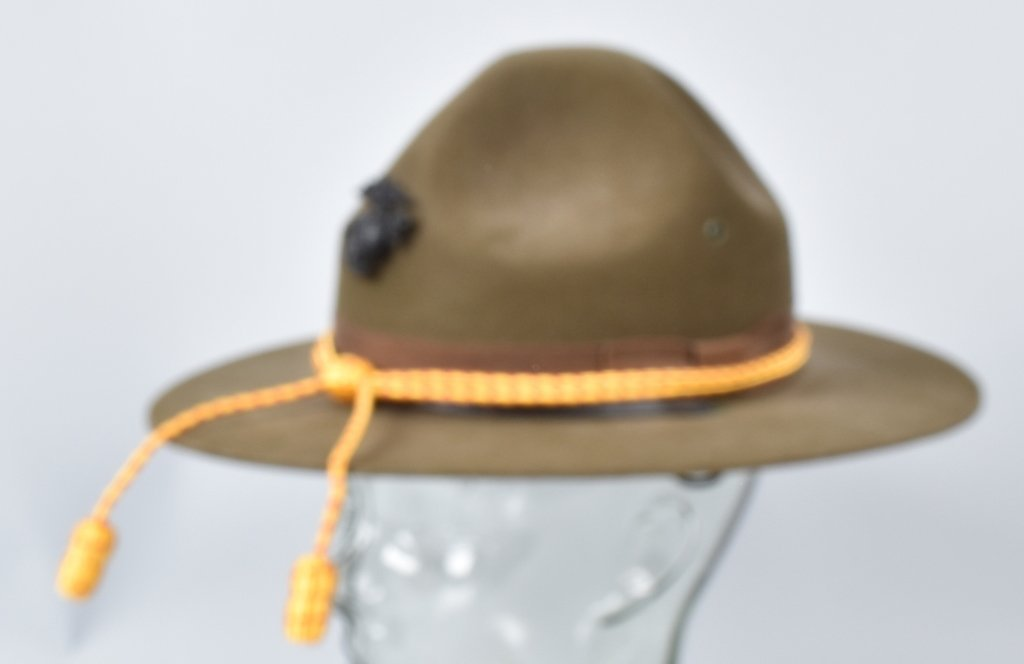 U.S. MARINE CORPS  DRILL INSTRUCTORS HAT