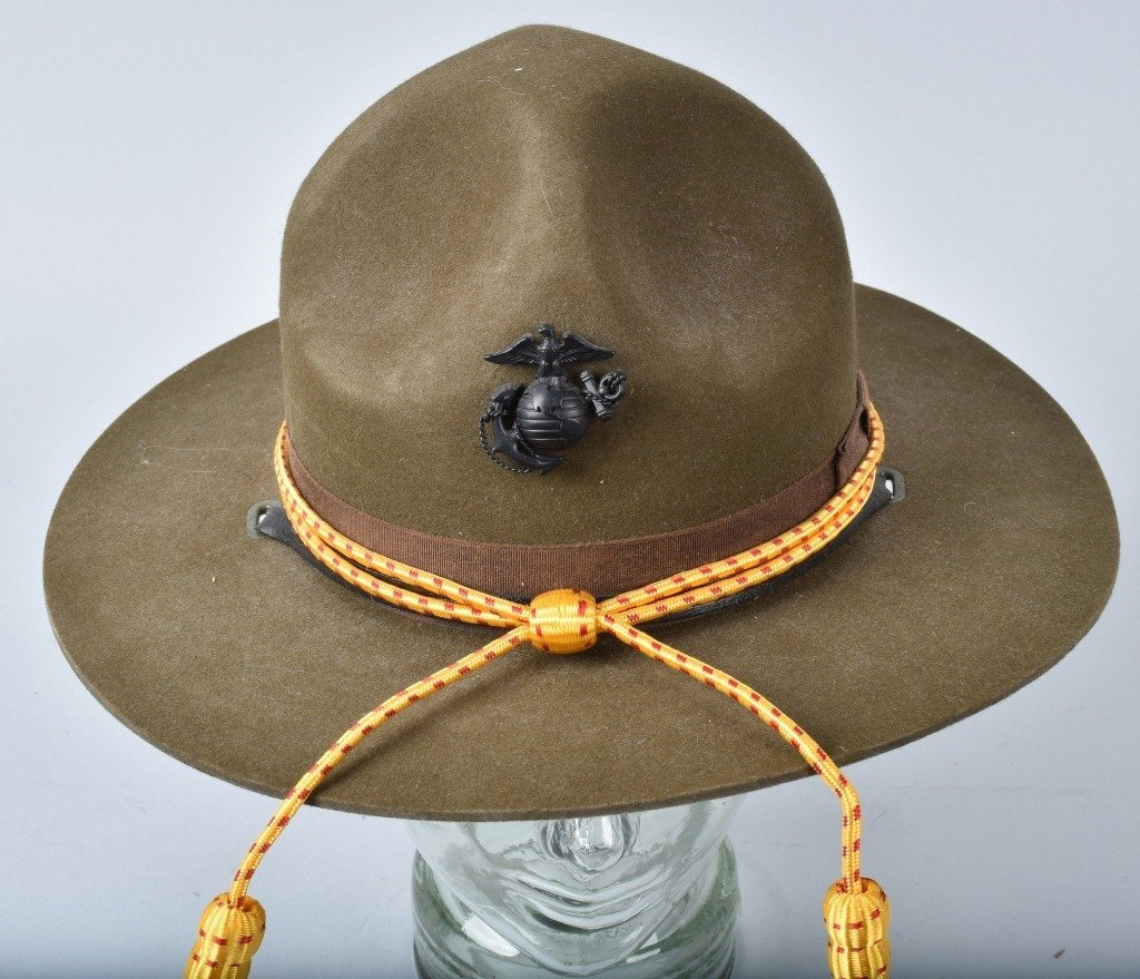 U.S. MARINE CORPS  DRILL INSTRUCTORS HAT - 4