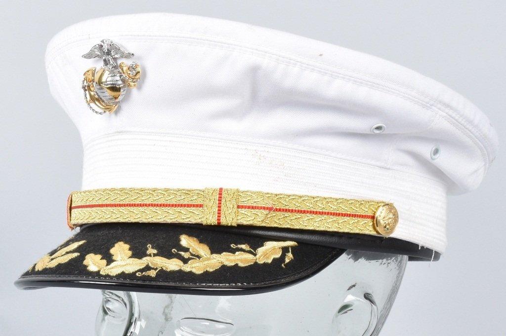 U.S. MARINE CORPS  DRESS BLUES OFFICER'S HAT