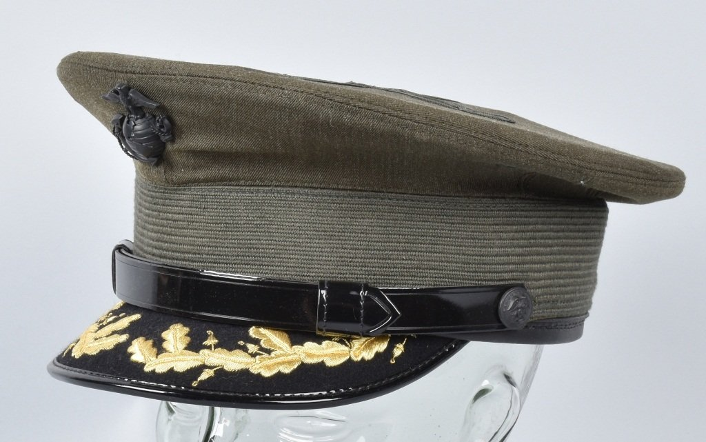 U.S. MARINE CORPS OFFICER'S HAT