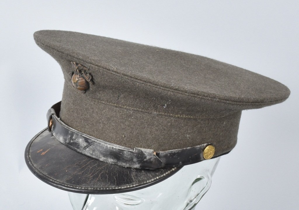 U.S. MARINE CORPS  OFFICER'S HAT