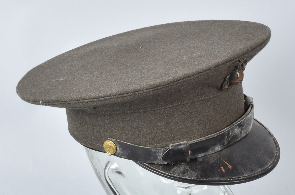 U.S. MARINE CORPS  OFFICER'S HAT - 3