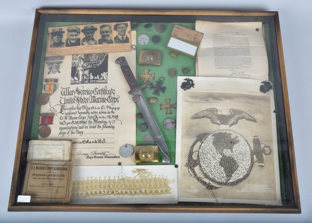 WW1  ARCHIVE 5 KOPP BROTHERS, U.S. MARINES & MORE