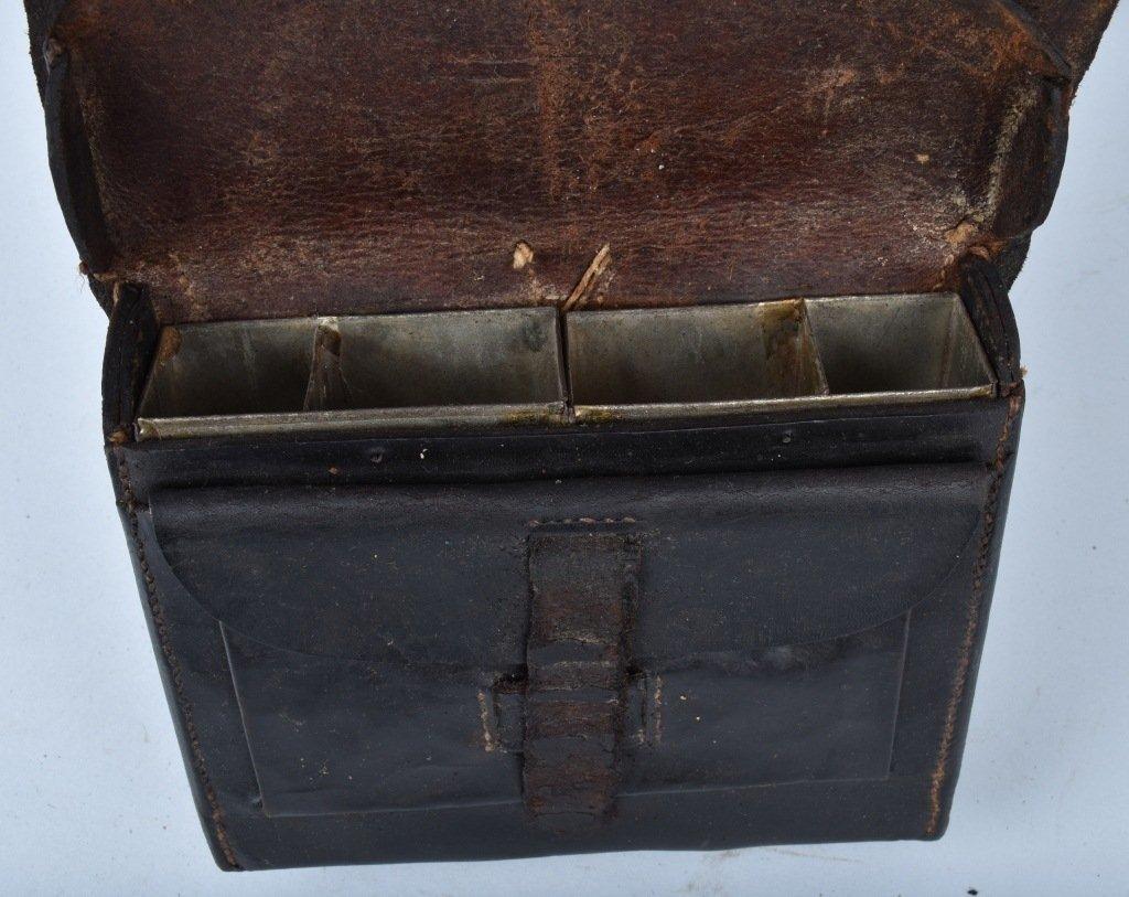 CIVIL WAR M1858 CARTRIDGE BOX and SLING - 7