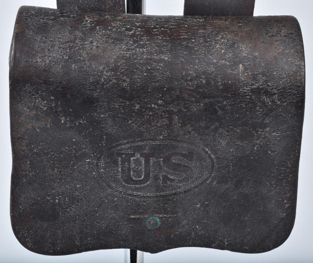 CIVIL WAR M1864 CATRIDGE BOX and  SLING - 3