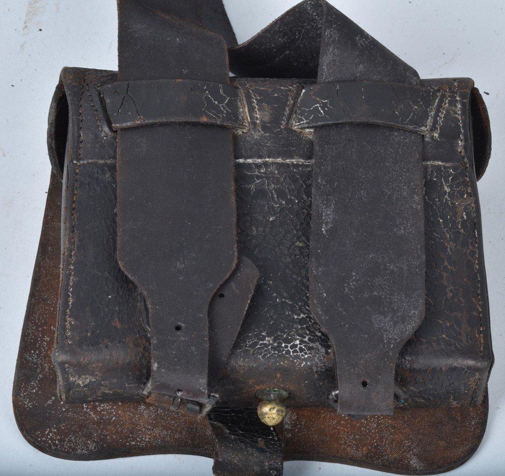 CIVIL WAR M1864 CATRIDGE BOX and  SLING - 8