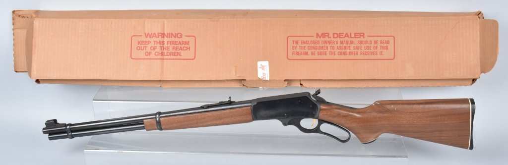 MARLIN M336, 30-30 WIN LEVER ACTION RIFLE, BOXED