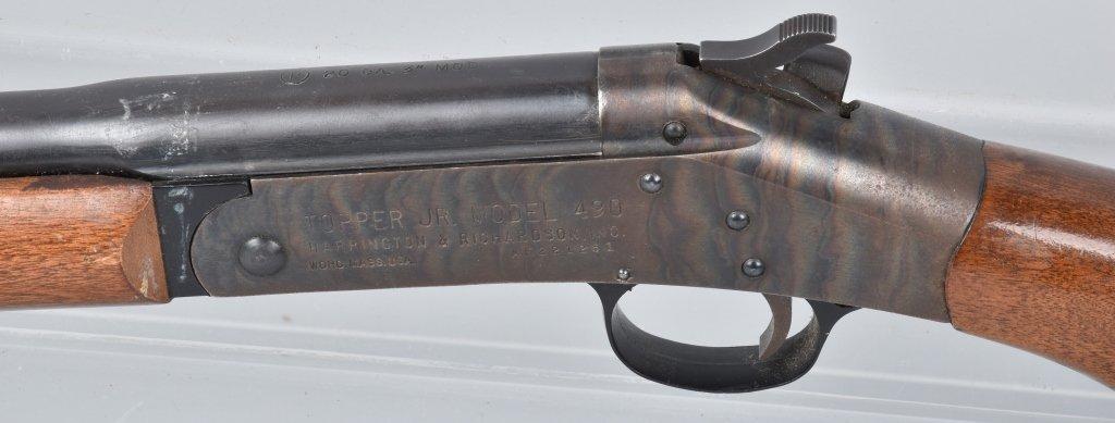 H&R TOPPER JR M490, 20 GA SHOTGUN - 5