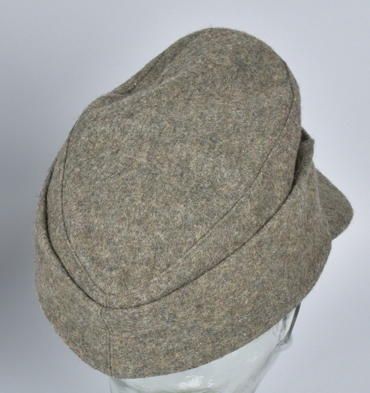 NAZI GERMAN FORAGE CAP and OVERCOAT - 4