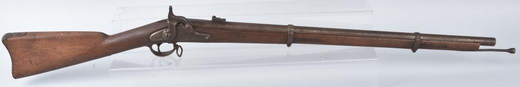 CIVIL WAR M1863 SPRINGIELD RIFLE, DATED 1863