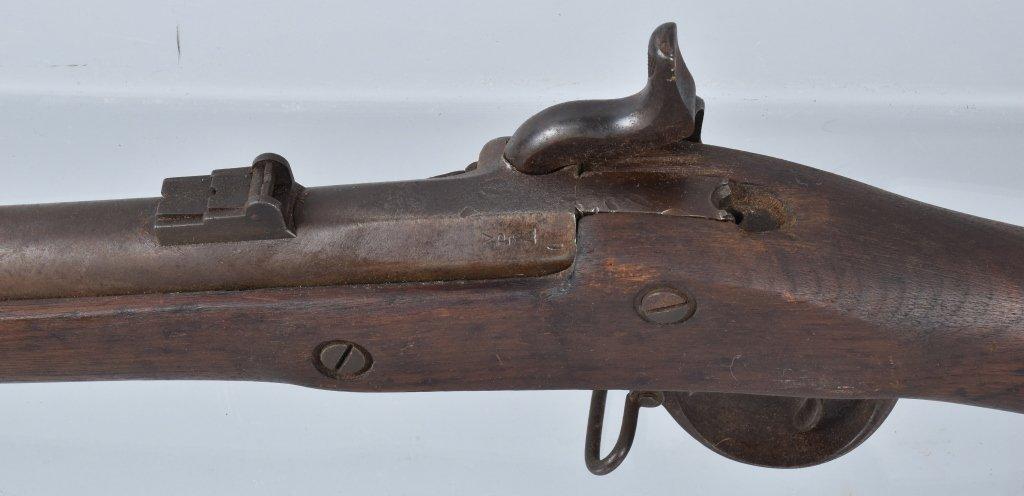 CIVIL WAR M1863 SPRINGIELD RIFLE, DATED 1863 - 5