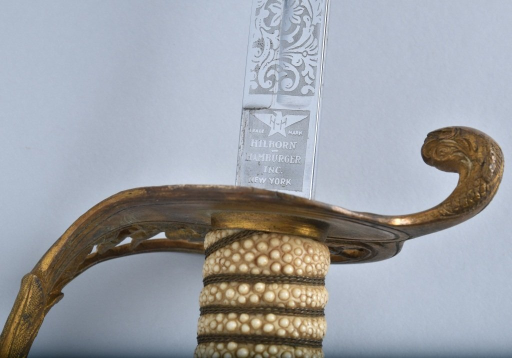 U.S.N. OFFICERS SWORD and SCABBARD - 6