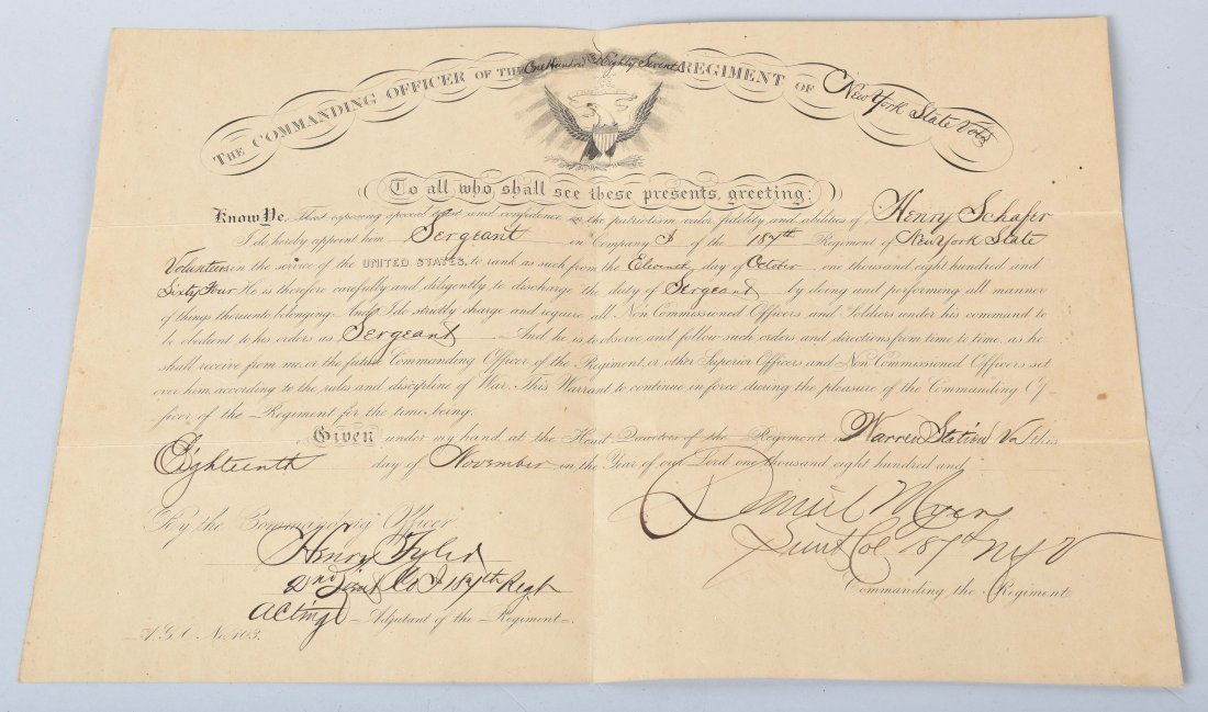 CIVIL WAR DOCUMENTS, SNUFF BOX and MORE - 2