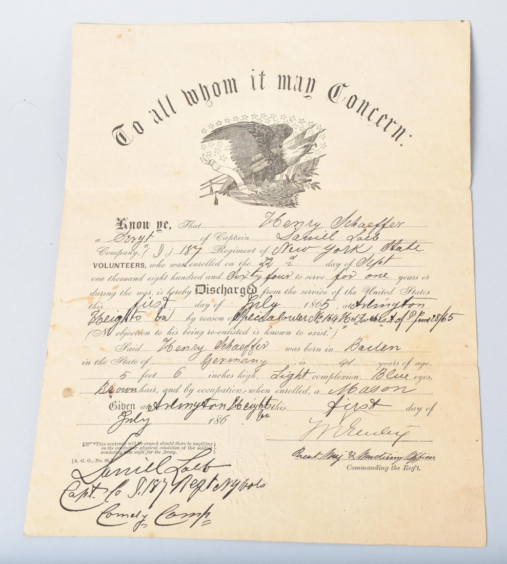 CIVIL WAR DOCUMENTS, SNUFF BOX and MORE - 3