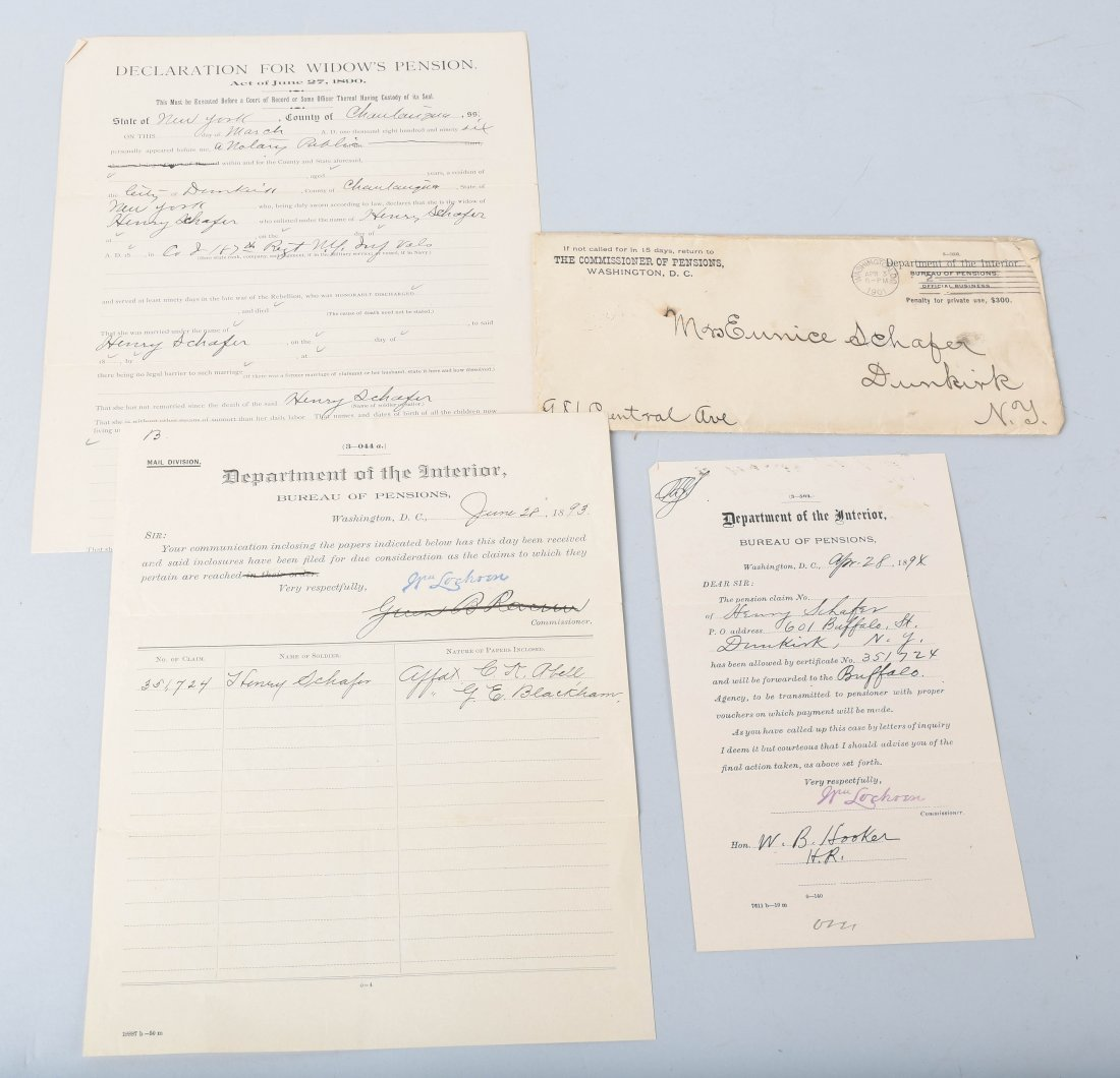 CIVIL WAR DOCUMENTS, SNUFF BOX and MORE - 5