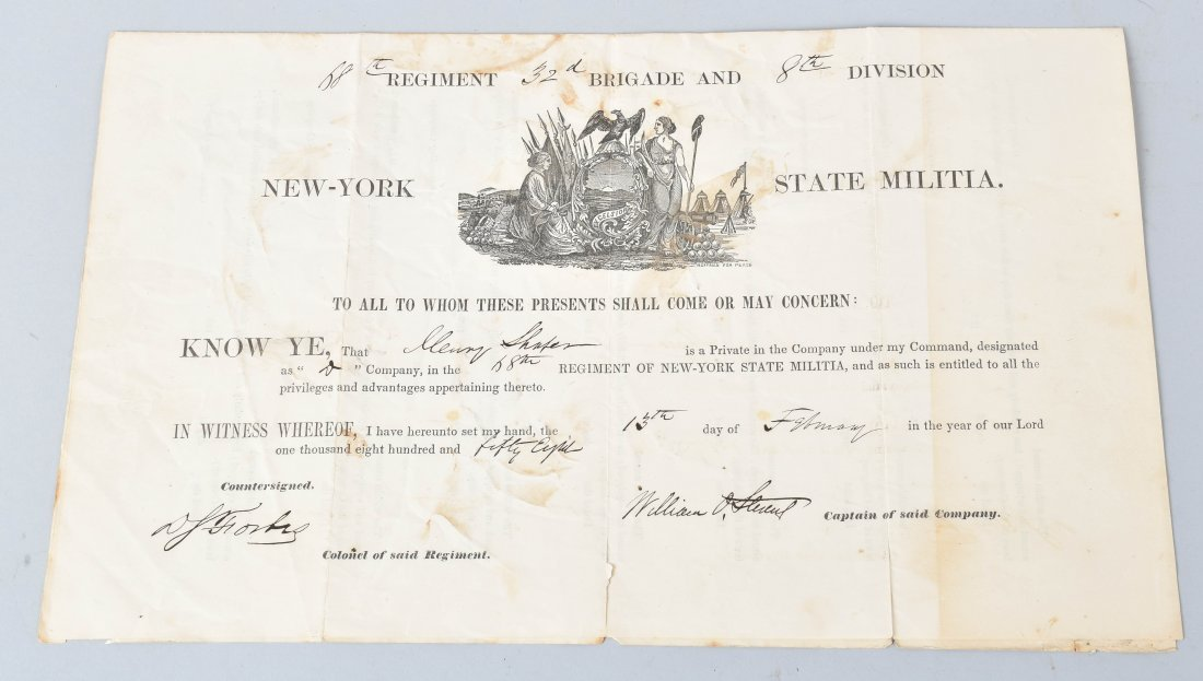 CIVIL WAR DOCUMENTS, SNUFF BOX and MORE - 6