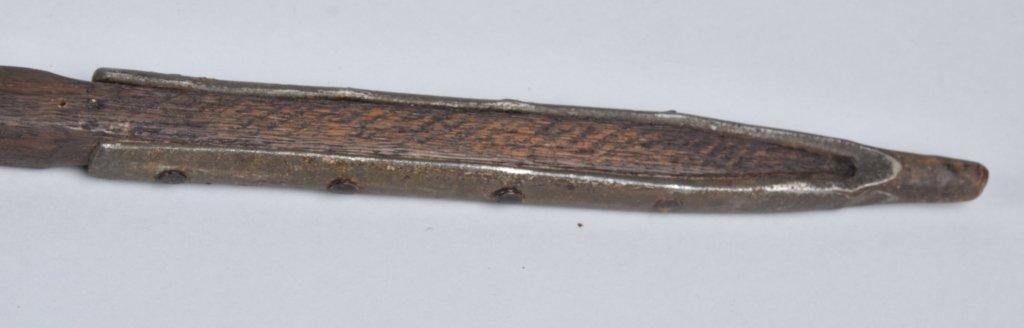 1870'S U.S. GUIDON SPIKED POLE - 4