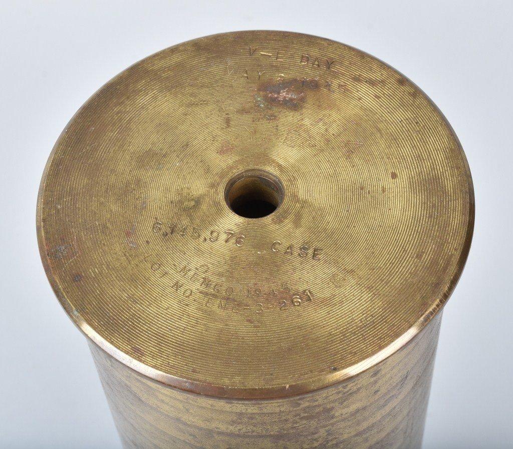 WW2 MOORE MFG CO, LAST SHELL PRODUCED, 5-8-1945 - 4