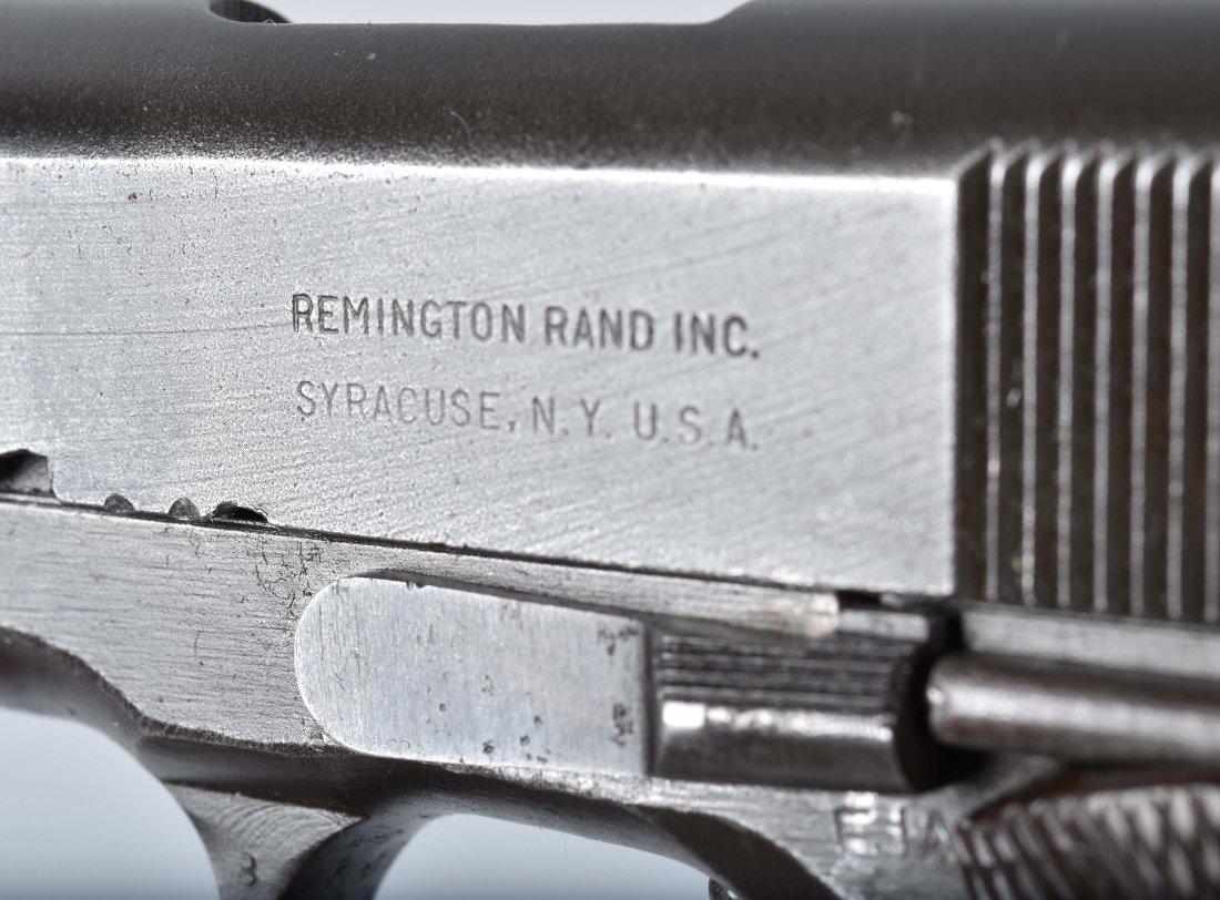 M1911 REMINGTON RAND .45 PISTOL, ID'd GEN. GUINEY - 10