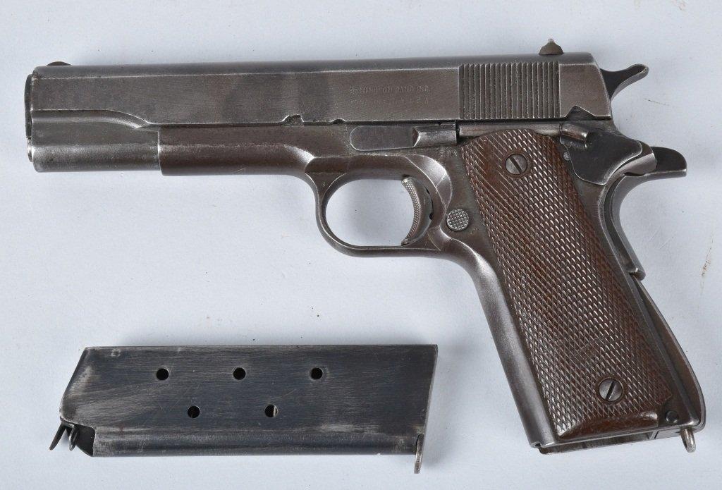 M1911 REMINGTON RAND .45 PISTOL, ID'd GEN. GUINEY - 2