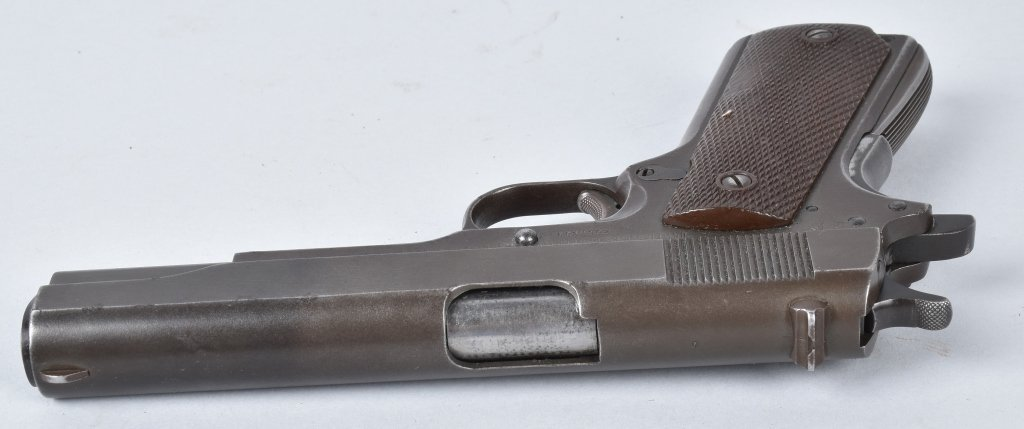 M1911 REMINGTON RAND .45 PISTOL, ID'd GEN. GUINEY - 4