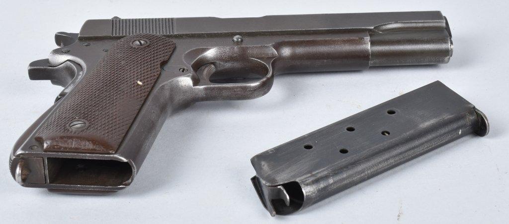 M1911 REMINGTON RAND .45 PISTOL, ID'd GEN. GUINEY - 5
