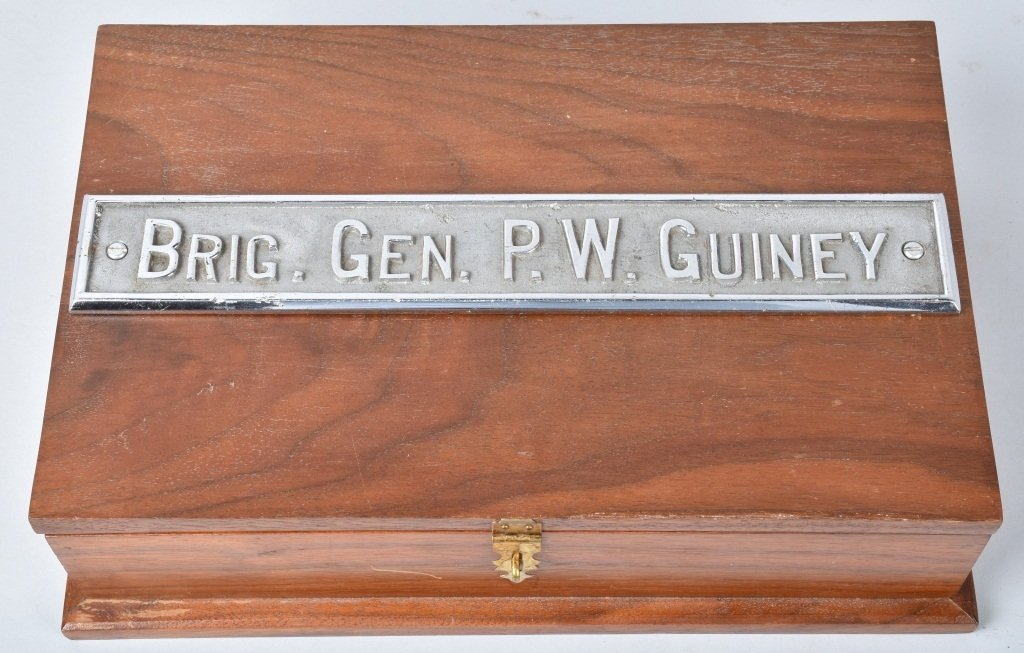M1911 REMINGTON RAND .45 PISTOL, ID'd GEN. GUINEY - 8
