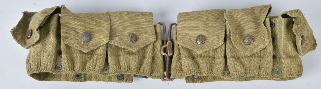 WW1 MILLS  CARTRIDGE BELT